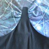 Wicking ed usura asciutta di ginnastica di donne della maglietta giro collo per il commercio all'ingrosso