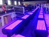 luz da lavagem do diodo emissor de luz da noite da cidade do diodo emissor de luz do brilho elevado de 108PCS 1With3W