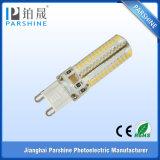bulbo do diodo emissor de luz G9 de 220V 104PCS 5W