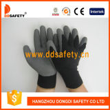 Ddsafety 2017 Coton Avec Polyester Liner Crinkle Latex Glove