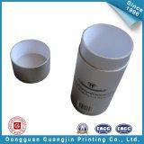 Silbernes Drucken-runder Verpackungs-Kasten (GJ-box129)
