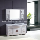 純木の浴室用キャビネットの純木の浴室の虚栄心(KD-437)