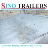 Controlar la jaula de la placa de acero que inclina el acoplado