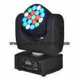 LED-Träger-bewegliches Hauptlicht 19X3w RGBW
