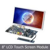 Módulo del LCD de 8 pulgadas con la pantalla táctil resistente para la atmósfera de la posición