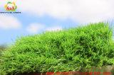 Верхняя синтетическая трава для Landscaping низкого Shine