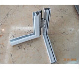 Preiswerte Baumuster-doppeltes französisches Aluminiumflügelfenster-Glasfenster