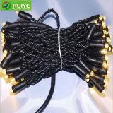 LEDの花輪は装飾ストリングライトをつける