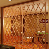 Aufbau-Gebäude-Edelstahl-Dubai-Raum-Teiler-Bildschirm-Metallarbeits-Projekt