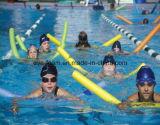 Macarronetes macios imediatos da associação de EPE para a nadada