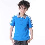 A farda da escola/Sportswear/Seco-Coube a camisa de polo para miúdos