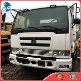 使用されたダンプカートラックのUd日産の重い貨物ダンプトラック(PF6エンジン、20m3/30TONの12503ccエンジン)