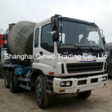 10-Cylinders Isuzu Used Concrete Mixer Truck con Clean-8m3-Mixing-Drum