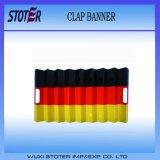 Bandiere materiali di applauso del ventilatore del documento del creatore di disturbo, bandierina della Germania