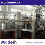 3 in 1 ausspülender Druck-füllender und mit einer Kappe bedeckender Zeile/in Füllmaschine