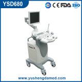 Nuova macchina di ultrasuono di Doppler di colore del carrello (YSD680)