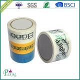 La marca de fábrica del embalaje imprimió la cinta del embalaje de BOPP (P050)