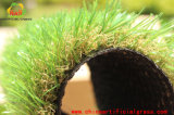 Gazon artificiel d'herbe de nature de jardin professionnel décoratif de vert