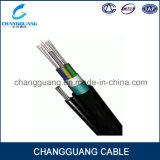 Prezzo allentato del cavo della fibra del tubo del cavo di fibra ottica aereo autosufficiente del cavo ottico della fibra di Gytc8a/S