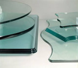 Machine de polonais en verre triaxiale horizontale de bord de commande numérique par ordinateur pour la glace Shaped