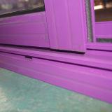 Bloqueo cubierto polvo de la maneta con la ventana de desplazamiento de aluminio dominante Kz339
