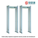 Bank Security Multi Launch Reception Walk Through Metal Detector mit Light Sound Alarm Door