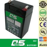 batterie 4V6.0AH rechargeable, pour la lumière Emergency, éclairage extérieur, lampe solaire de jardin, lanterne solaire, lumières campantes solaires, torche solaire, ventilateur solaire, ampoule