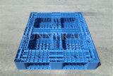 Páletes plásticas resistentes do armazenamento do armazém do HDPE