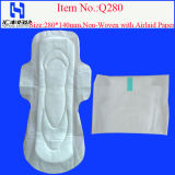 High Absorbency Sanitary Towels (D280)를 가진 자유로운 Samples