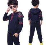 Цветок ватки ягнится костюм Sportswear девушки в одежды Swg-131 s детях '