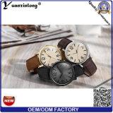 Yxl-738流行の日本Movtの品質のイタリアの革バンドのTimexの腕時計