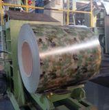 Militar impresso a cores galvanizado bobina de aço