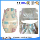 Qualität Baby Diaper mit Cloth Like Backsheet Magic Tape