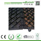 Telhas compostas plásticas de madeira impermeáveis Anti-UV do Decking