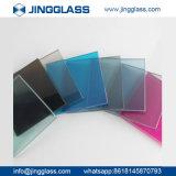 A segurança por atacado do edifício matizou o fornecedor de vidro colorido vidro do vidro da impressão de Digitas