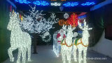 LED Christmas Decorative Motif Licht Net Lighting