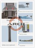Levage de véhicule de matériel de garage d'élévateur de véhicule de poste 2 (AAE-TPB135E)