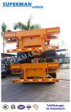 De dubbele Semi Aanhangwagen van de Vrachtwagen van de Container van de As voor het Frame van de Lading/Skeletachtig