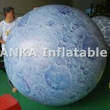 Large commerciale Inflatable Planet Moon Balloon per Advertizing