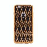 新式のヒョウTPUはダイヤモンドのiPhone 6の携帯電話の箱(XSDD-033)と電気めっきする