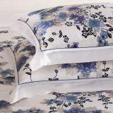 Taihuの雪のOekoの高品質の絹の大きい花の印刷の寝具セット
