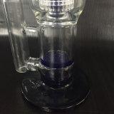 Bereiten doppeltes Filter-rauchendes Glasrohr des Regelkreis-Hb-K8, Pfeifen, hochwertiges Glaswasser-Rohr auf