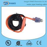 Fácil instalar el cable térmico del tubo de agua para el mercado europeo