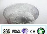 La FDA de catégorie comestible certifiée font le conteneur en aluminium d'utilisation de gâteau