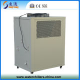 Ti Tube Anti-Corrosion Air Cooled Water Chiller para Electroplate