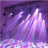 Luz estupenda colorida móvil de la viga de la pista 12PCS*10W LED