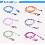 Micro cable blindado carcasa de aluminio USB tipo Nets