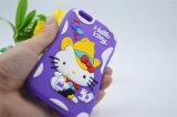 気球のびんのわら(XSK-021)が付いている弓帽子のカウボーイのこんにちはキティの携帯電話の箱