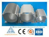 L'aluminium a expulsé profil pour le matériau de construction d'industrie avec le prix concurrentiel