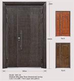 M15-28 cobre rojo color 3D Talla Puerta Interior